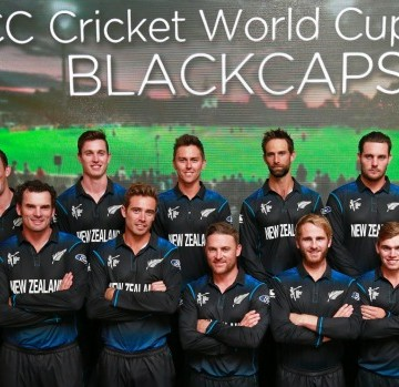 Black Caps squad 2015